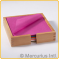 Jap. silk paper 16x16 cm/6.3x6.3 inch - 960 sheets - 20 colours assorted