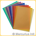 Transparent paper assorted colours - 50x65 cm