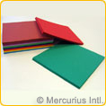 Folding paper heavy assorted - square