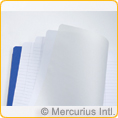 Main lesson book - 21x25 cm - 2 pages lined / 1 page blank - with onion skin - PACK 10 PIECES