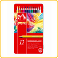 Caran d'Ache Supracolor Watercolour Pencils - 12 colours