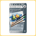 Lyra Rembrandt aquarelle pencil - 12 colours