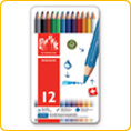 Caran d'Ache Fancolor Watercolour Pencils - 12 colours