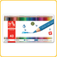 Caran d'Ache Fancolor Watercolour Pencils - 40 colours