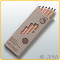 Lyra Color Giants - unlacquered - single colours - 12 pencils