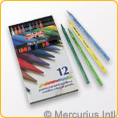 Progresso Woodless Coloured Pencils - 12 colours