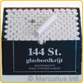 Blackboard chalk - white - 144 pieces