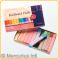 Mercurius Blackboard Pastel Chalk - 12 colours available
