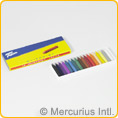 Filia oil crayons 18 colours assorted