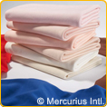 Cotton Tricot thin quality - cream colour - 76x100 cm/0.83x1.09 yards
