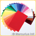 Woollen Felt - 20x30cm/7.87x11.81 inch - single colours