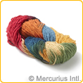 Filges wool Bioland 2-threads plant-dyed - rainbow