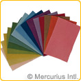 Filges Wool Felt Bioland 15 colours assorted