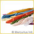 Plant Dyed Silk Cloths - hemmed - small
