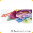 Silk, plant colour dyed, 22gsm 92x100cm