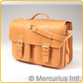 School Bag / Teacher's Bag - 3 compartments + laptop compartment - symmetric frontbags