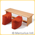 Anti-Allergy Pillow for Bench Flexible Classroom