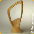 Choroi pentatonic Children's Harp - 7 strings
