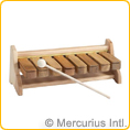 Pentatonic Set Xylophone Blocks with stand+mallet with stand + mallet
