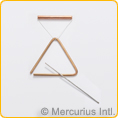 Triangles bronze - small