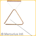 Triangles bronze - medium-sized