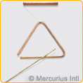 Triangle bronze - large