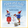 Pippa and Pelle in the Winter Snow - by Daniela Drescher