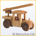 Big Fire Engine - Wooden Toy