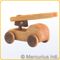Debresk wooden toy - Small Fire Engine