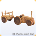 Debresk - Small Tractor with Trailer