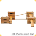 Wooden Planks for building and climbing
