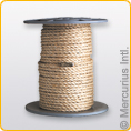 Roll of Skipping Rope 50m Sisal