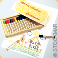 Stockmar Wax Crayons - 16 colours in wooden box