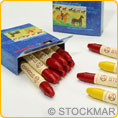 Stockmar Wax Crayons - single colours - 12 crayons