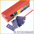 Stockmar Modelling Beeswax - 77 Sheets in Presentation Box - 100x40 mm
