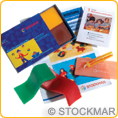 Stockmar Set of Modelling Beeswax - 7 Sheets 100x40 mm + accessories