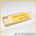 empty Stockmar wood box for 16 sticks or 16 blocks - pc