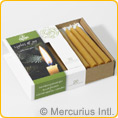 Dipam beeswax Christmas Tree Candles - 20 pieces