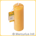 Beeswax candle Dipam ST2 - approx. 78x190 mm - 4 candles