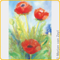 Postcards M. v. Zeyl - Poppies