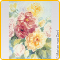 Postcards M. v. Zeyl - English roses