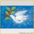 Postcards M. v. Zeyl - Dove of peace
