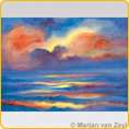 Postcards M. v. Zeyl - Sunset