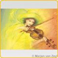 Postcards M. v. Zeyl - Play The Violin