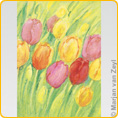 Postcards M. v. Zeyl - Tulips