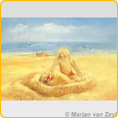 Postcards M. v. Zeyl - On The Beach