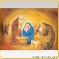 Poster - The Holy Family - by Marjan van Zeyl