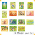 Assortment In and around the farm - Postcards - by Marjan van Zeyl