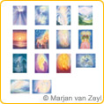 Assortment Light and Mysticism - Postcards - by Marjan van Zeyl