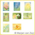 Assortment Fairies - Postcards - by Marjan van Zeyl